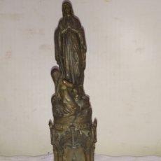 Arte: ESPECTACULAR ESCULTURA RELIGIOSA BRONCE SIGLO XIX. Lote 194671962
