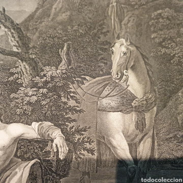 Arte: Grabado antiguo William Hogarth. El buen samaritano - Foto 9 - 194731395