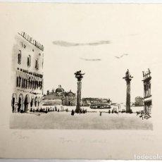 Arte: LITOGRAFÍA SIMÓ BUSOM GRAU (1927) BON NADAL FELIÇ ANY NOU 1994 - NUMERADA 16/250 - 23X18 CM / C-36. Lote 194734868