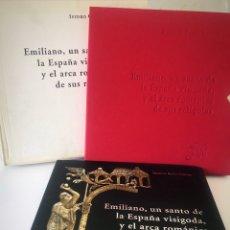 Arte: EMILIANO, UN SANTO DE LA ESPAÑA VISIGODA, Y EL ARCA ROMÁNICA DE SUS RELIQUIAS. Lote 194738643