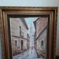 Arte: CALLE CON FIGURAS. Lote 194752342