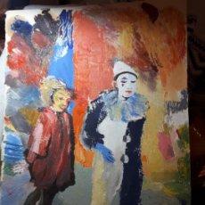 Arte: INTERESANTE ÓLEO FIRMADO. Lote 194755806