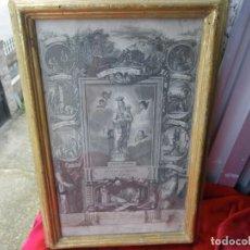 Arte: GRABADO DE FRANCISCO JORDAN, VIRGEN DE LA TRAPA . ORO .CRISTAL ORIGINAL MAXIMA CALIDAD , VER . Lote 194874722