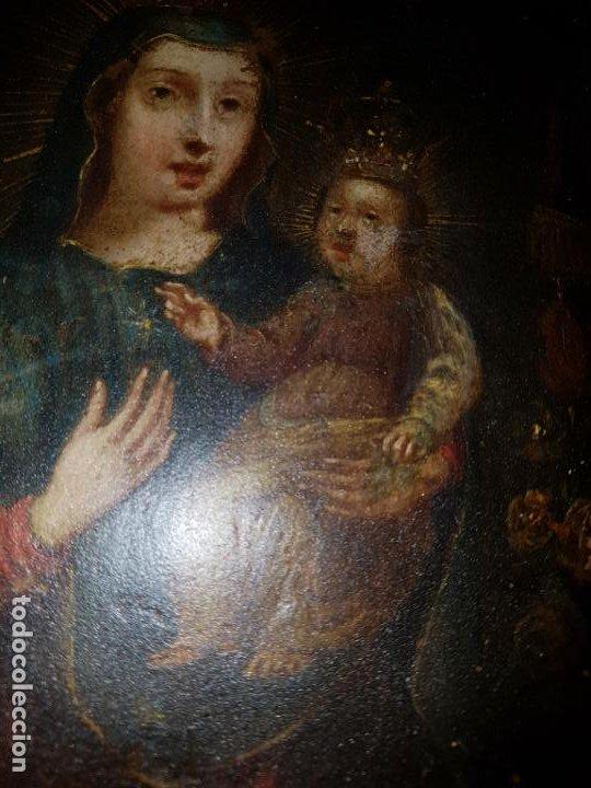 Arte: OLEO SOBRE COBRE SIGLO XVII-XVIII - Foto 12 - 194886432