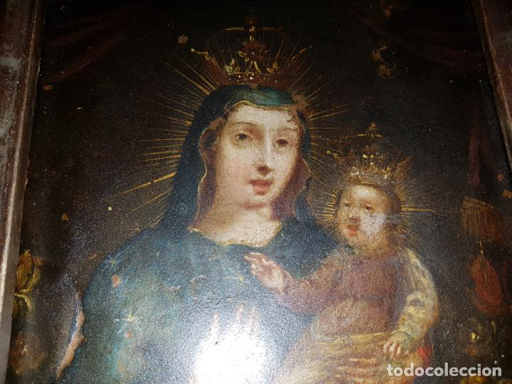 Arte: OLEO SOBRE COBRE SIGLO XVII-XVIII - Foto 18 - 194886432