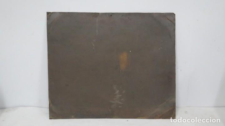 Arte: BONITA VIRGEN CON EL NIÑO. OLEO S/ COBRE. SIGLO XVII - Foto 10 - 194895975