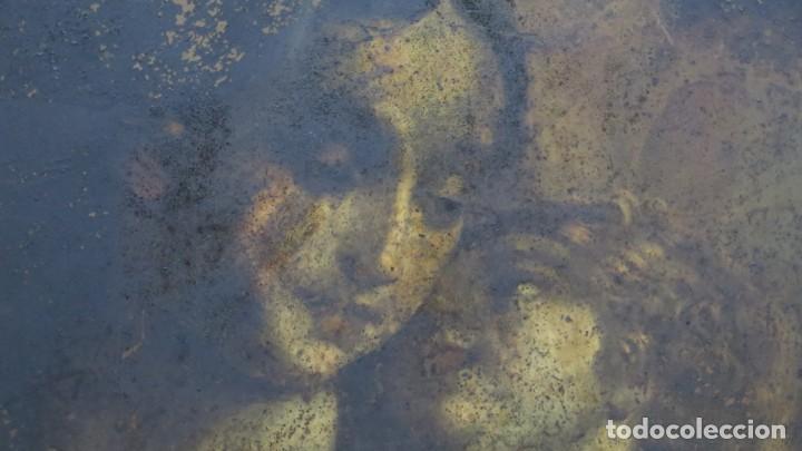 Arte: BONITA VIRGEN CON EL NIÑO. OLEO S/ COBRE. SIGLO XVII - Foto 11 - 194895975