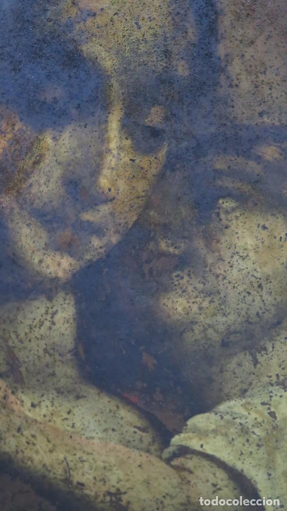 Arte: BONITA VIRGEN CON EL NIÑO. OLEO S/ COBRE. SIGLO XVII - Foto 13 - 194895975