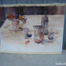 Arte: ACUARELA . ALMUDENA BELLIDO. Lote 194899696