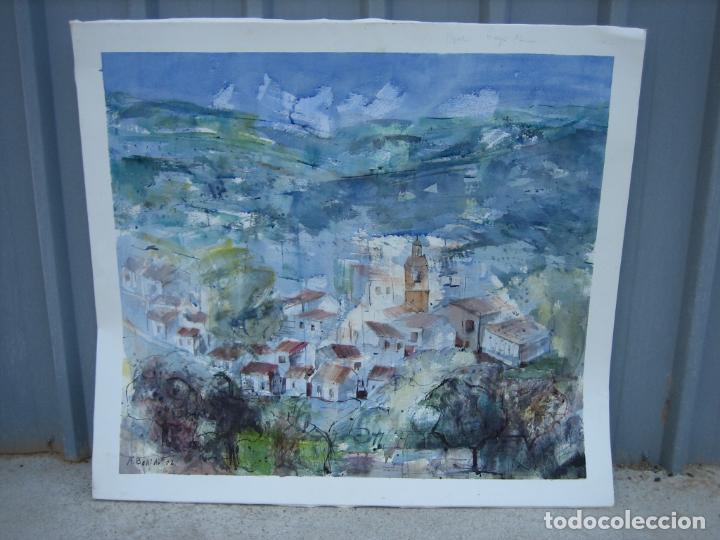 ACUARELA . ALMUDENA BELLIDO. CÓRDOBA (Arte - Arte Religioso - Pintura Religiosa - Acuarela)