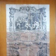 Arte: CONCLUSIONES FILOSOFICAS,JOSEP PUIGURIGUER I CLARINA. ACADEMIA DE STO.TOMAS DE AQUINO BARCELONA.1718. Lote 194904276