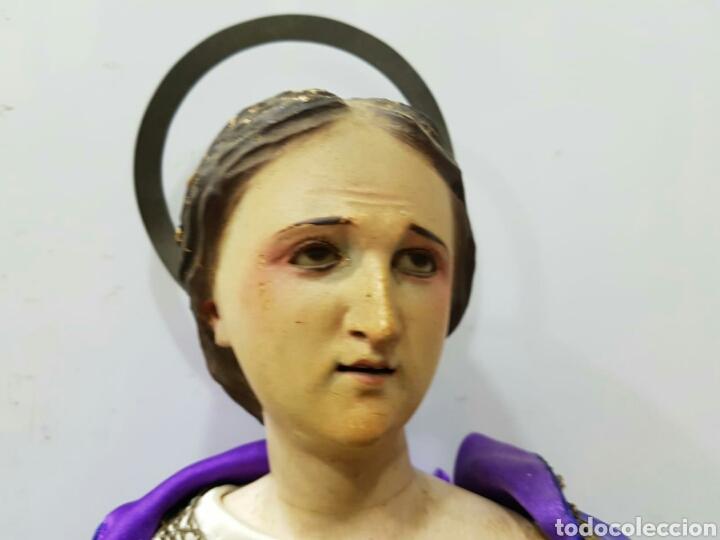 ANTIGUA VIRGEN CAP Y POTA CAPIPOTA S.XIX TALLA MADERA (Arte - Arte Religioso - Escultura)