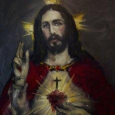 Arte: SAGRADO CORAZÓN DE JESÚS 2019. Lote 195058832