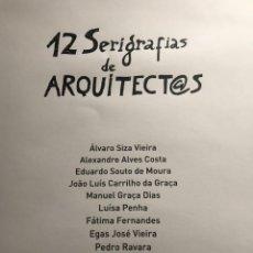 Arte: ALVARO SIZA Y LOS MÁS IMPORTANTES ARQUITECTOS DE PORTUGAL.. Lote 195101928