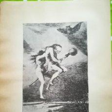 Arte: LÁMINA DE GOYA. Lote 195110933