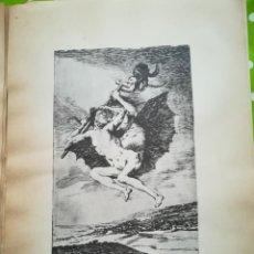 Arte: LÁMINA DE GOYA. Lote 195111172
