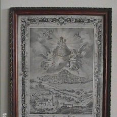 Arte: NUESTRA SEÑORA DE VALLIVANA. PATRONA DE MORELLA. CASTELLÓN.FINALES S.XIX, PRINCIPIOS S.XX.. Lote 195111666