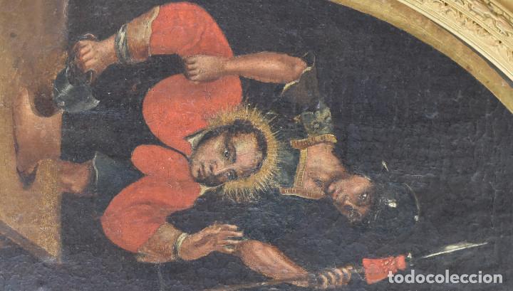 Arte: Ecole Sud Américaine XVIIème/XVIIIème siècle. L'arrestation de St. Crépin et St. Crépinien. - Foto 5 - 195125765