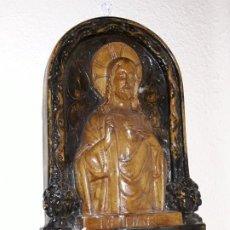 Arte: RELIEVE DEL SAGRADO CORAZÓN DE JESÚS. Lote 195145016