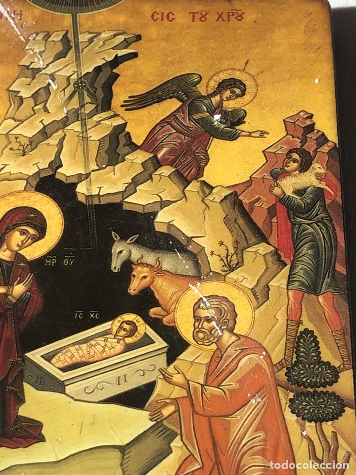 Arte: Imagen ICONO religiosa madera lámina enlacada - Foto 8 - 195177738