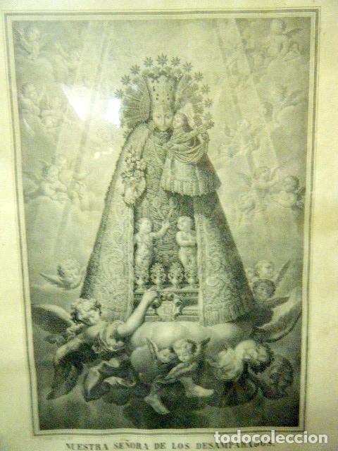 Arte: Nª Sª DE LOS DESAMPARADOS PATRONA DE VALENCIA Y SU REINO. V. AZNAR, 1877 - Foto 2 - 195185106