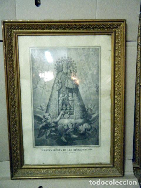 Nª Sª DE LOS DESAMPARADOS PATRONA DE VALENCIA Y SU REINO. V. AZNAR, 1877 (Arte - Arte Religioso - Grabados)