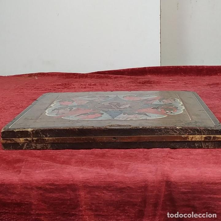 Arte: ICONO ORTODOXO. VIRGEN MARIA CON NIÑO. ÓLEO SOBRE TABLA. ESCUELA RUSA. RUSIA. XIX - Foto 26 - 195189178