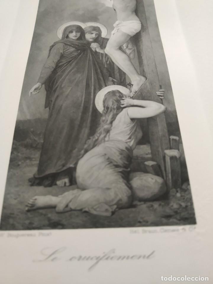 Arte: Rebajas!!! Único ! Helio grabado Crucifixión, 1900-1910 - Foto 2 - 195191531