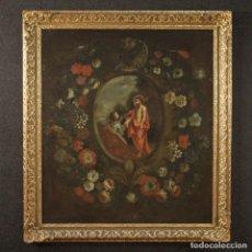 Arte: ANTIGUA PINTURA RELIGIOSA ESPAÑOLA DEL SIGLO XVIII. Lote 195200002