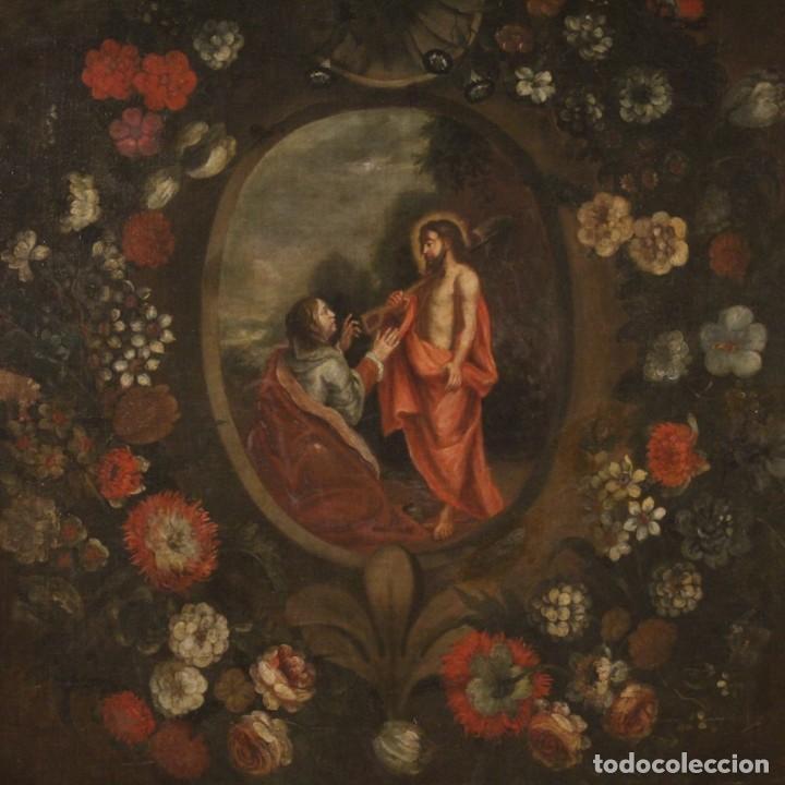 Arte: Antigua pintura religiosa española del siglo XVIII - Foto 2 - 195200002