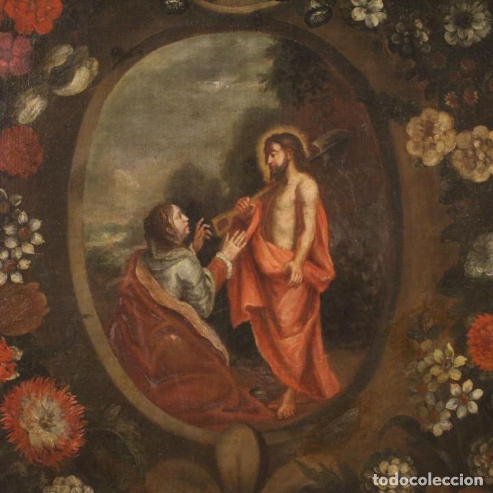 Arte: Antigua pintura religiosa española del siglo XVIII - Foto 4 - 195200002