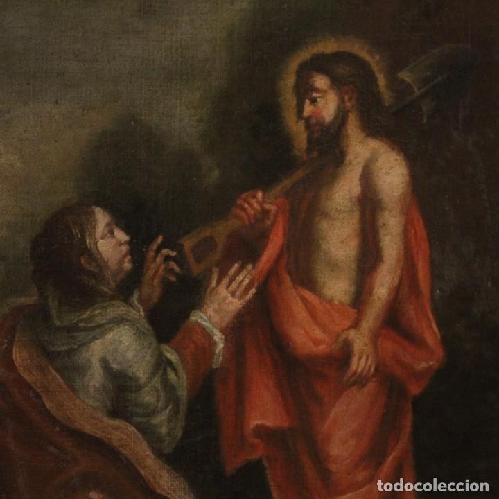 Arte: Antigua pintura religiosa española del siglo XVIII - Foto 6 - 195200002