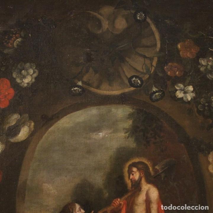 Arte: Antigua pintura religiosa española del siglo XVIII - Foto 8 - 195200002