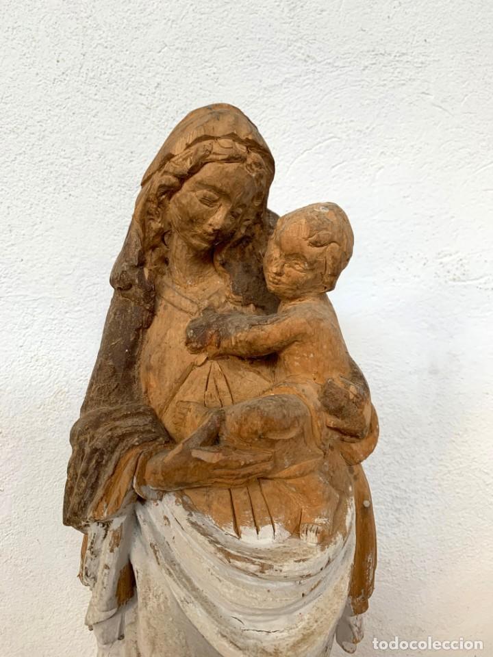 VIRGEN DE TALLA (Arte - Arte Religioso - Escultura)