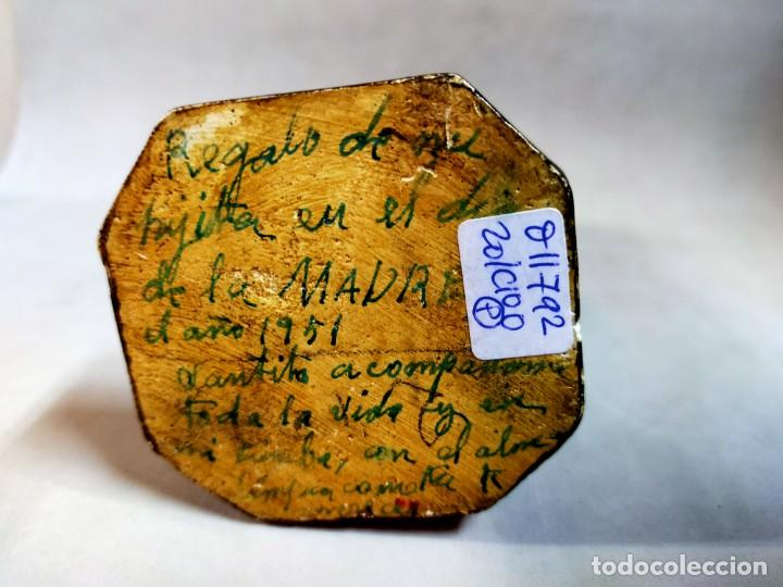 Arte: SAN JOSE CON NIÑO, FIGURA DE ESCAYOLA - Foto 14 - 195322543
