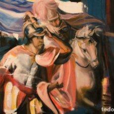Arte: HANIBAL CONTEMPLANDO ITALIA DESDE LOS ALPES. Lote 195328248