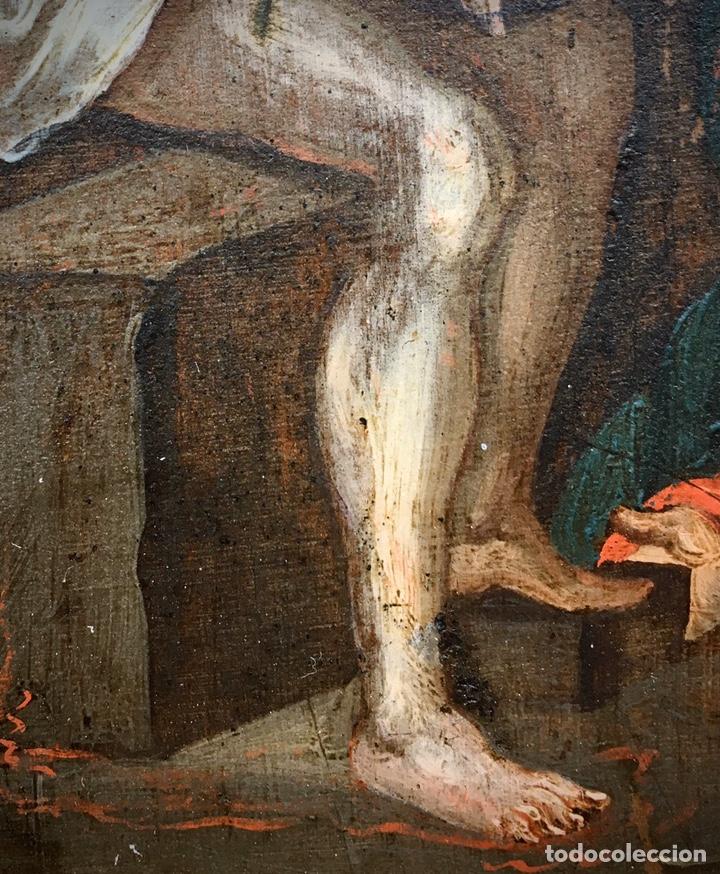 Arte: El Juicio de Jesús. Óleo sobre cobre. S.XVII - Foto 8 - 195335606