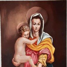 Arte: LA VIRGEN DE LAS ARPÍAS DE ANDREA DEL SARTO. RÉPLICA. Lote 195403321