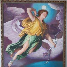 Arte: DIOSA ARTEMISA DE RAPHAEL MENGS. RÉPLICA. Lote 195403652