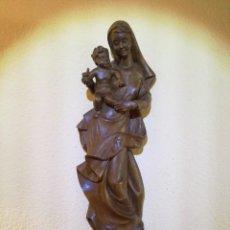 Arte: FIGURA VIRGEN MARÍA Y NIÑO JESÚS. Lote 195409221