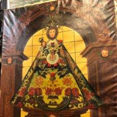 Arte: VIRGEN DE LOS CASTELLANOS, MOTA DEL MARQUES, VALLADOLID, GRAN FORMATO . Lote 195415212