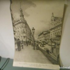 Arte: VISTA DE LA CALLE DE ALCALA. Lote 195441580