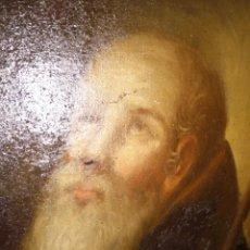 Arte: SAN ANTONIO ABAD OLEO LIENZO 96 CM X 73,5 CM, S XVIII. Lote 195461733