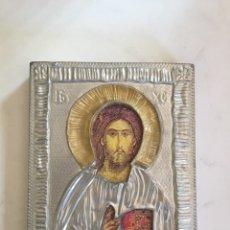 Arte: ICONO JESUS PANTOCRATOR. Lote 195469997