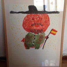 """Arte: """"FRANCO"""" EDUARDO ARROYO. Lote 195473076"""