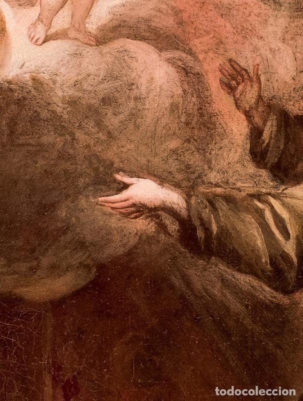 Arte: FRANCISCO ANTOLÍNEZ Y OCHOA Magnífico Óleo sobre lienzo con etiqueta de la Galería Caylus Enmarcado - Foto 5 - 195498620