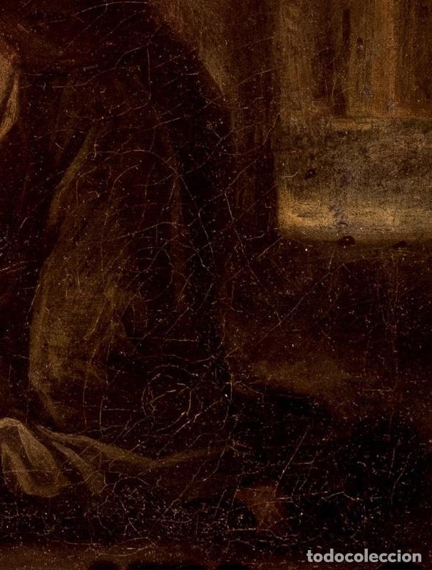 Arte: FRANCISCO ANTOLÍNEZ Y OCHOA Magnífico Óleo sobre lienzo con etiqueta de la Galería Caylus Enmarcado - Foto 6 - 195498620