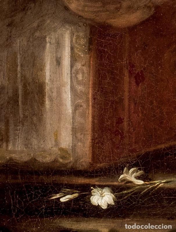Arte: FRANCISCO ANTOLÍNEZ Y OCHOA Magnífico Óleo sobre lienzo con etiqueta de la Galería Caylus Enmarcado - Foto 7 - 195498620