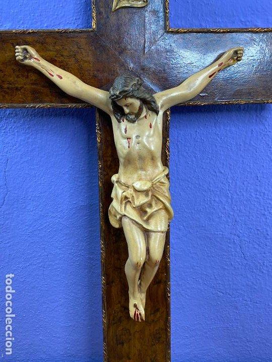 Arte: Imagen de cristo crucificado - Foto 2 - 195579745