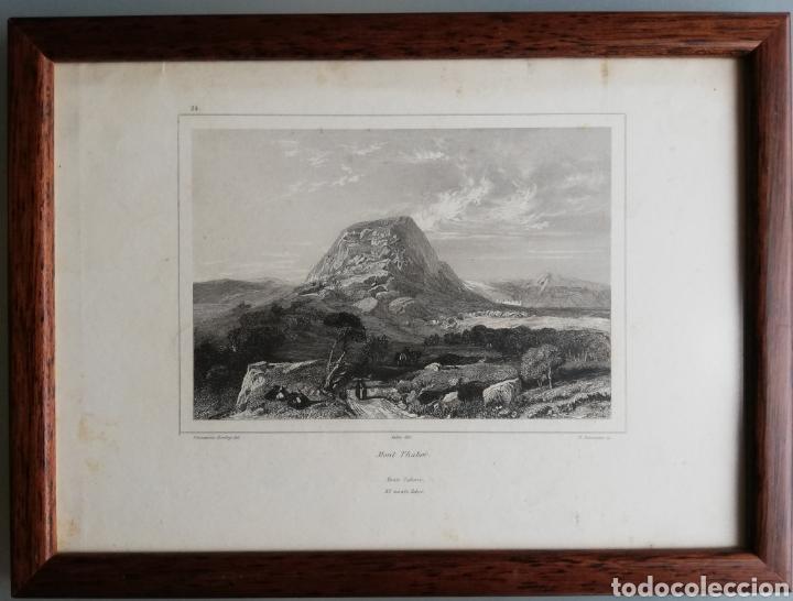 Arte: 14 cuadros con GRABADOS ENMARCADOS - 27 cm x 20 cm - marco nogal - cristal mate - MUY BUEN ESTADO - Foto 6 - 195785210